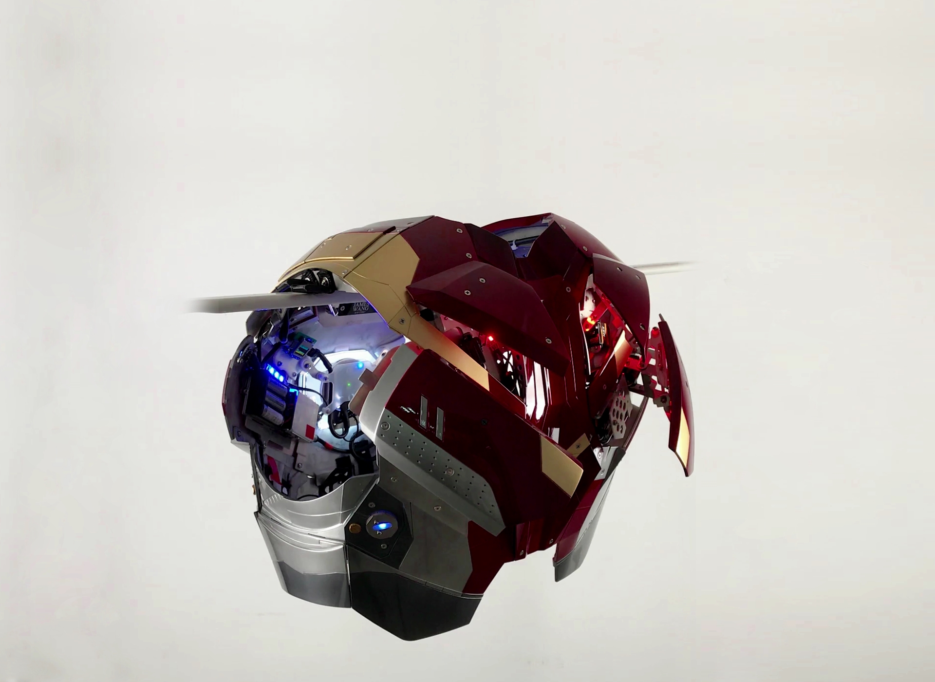 Wearable Iron Man Mark 47 Xlvii Armor Costume The Most Aned In Our History