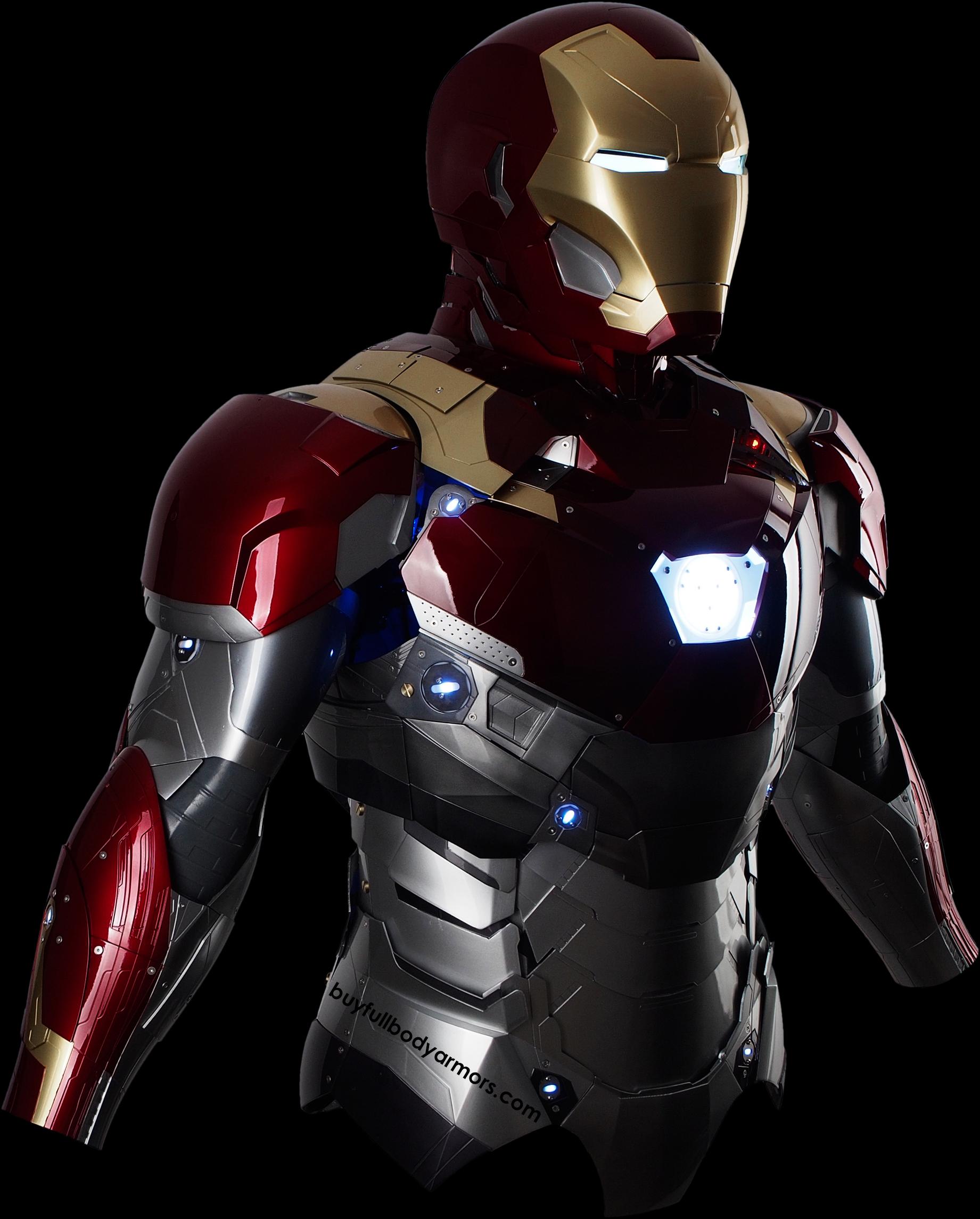 Iron Man Armor Blueprints WEARABLE IRON MAN MARK...